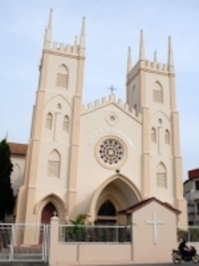 日本の歴史でも有名な宣教師・ザビエルのための教会