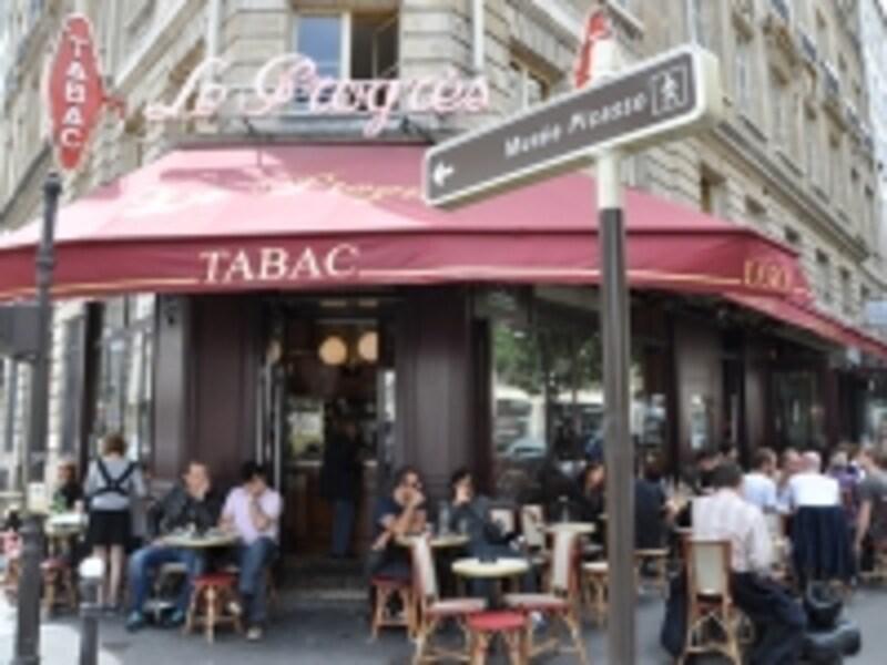 パリ一おしゃれな人たちが集まる