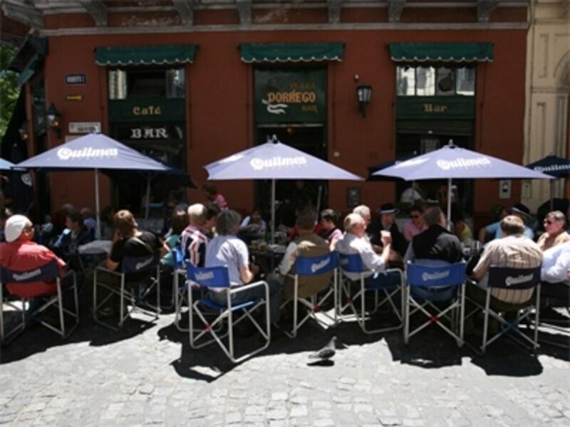 カフェなどでは手荷物に気を付けようundefined写真提供:メルコスール観光局