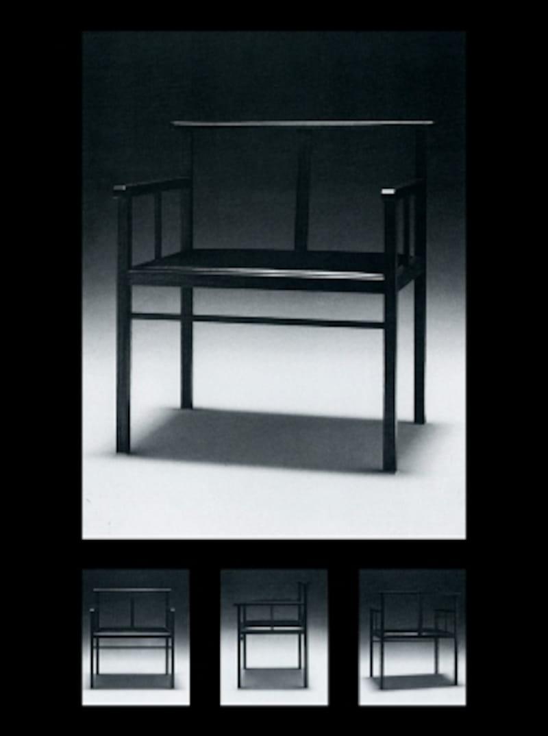 (引用:別冊商店建築78『日本の木の椅子』,p132,商店建築社発行)
