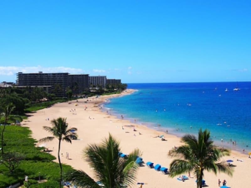 全米No.1に輝いた白砂のカアナパリビーチ