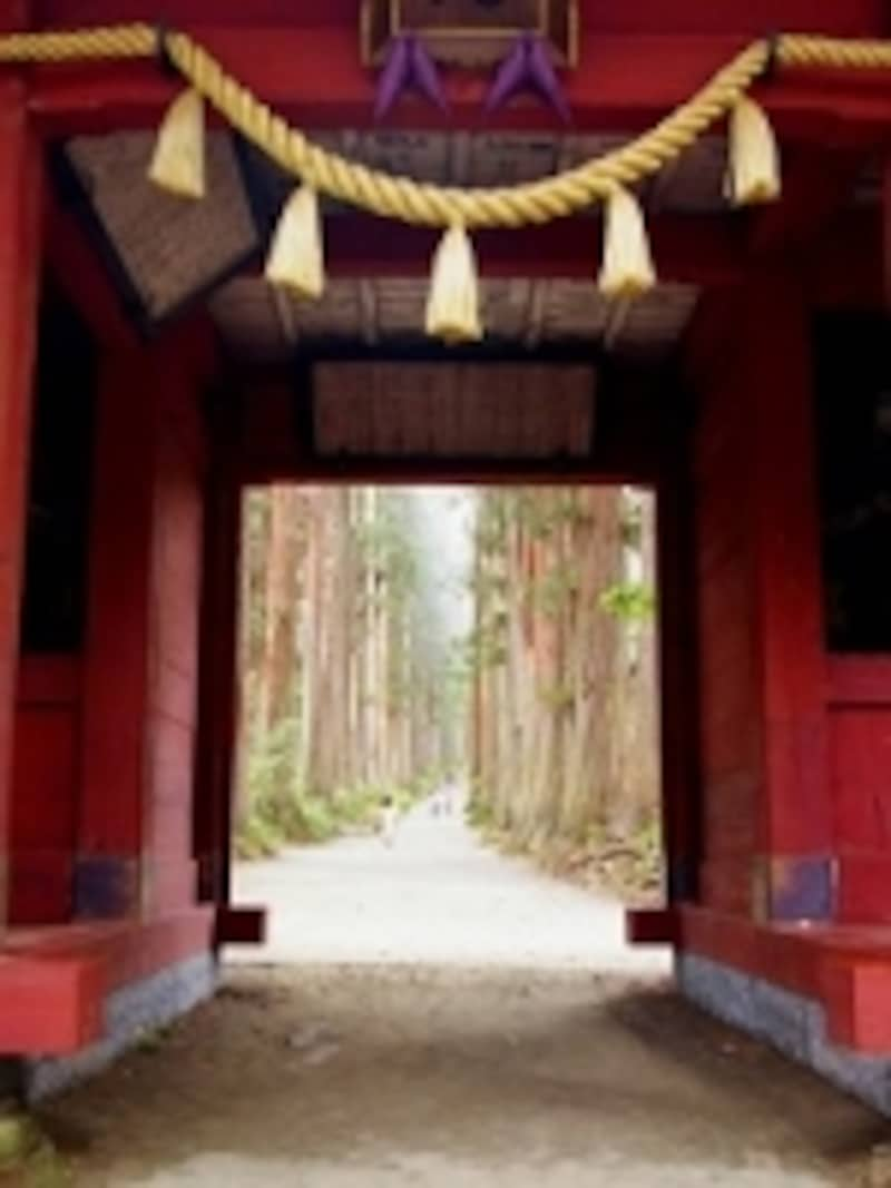 戸隠は、神々の世界への入り口です