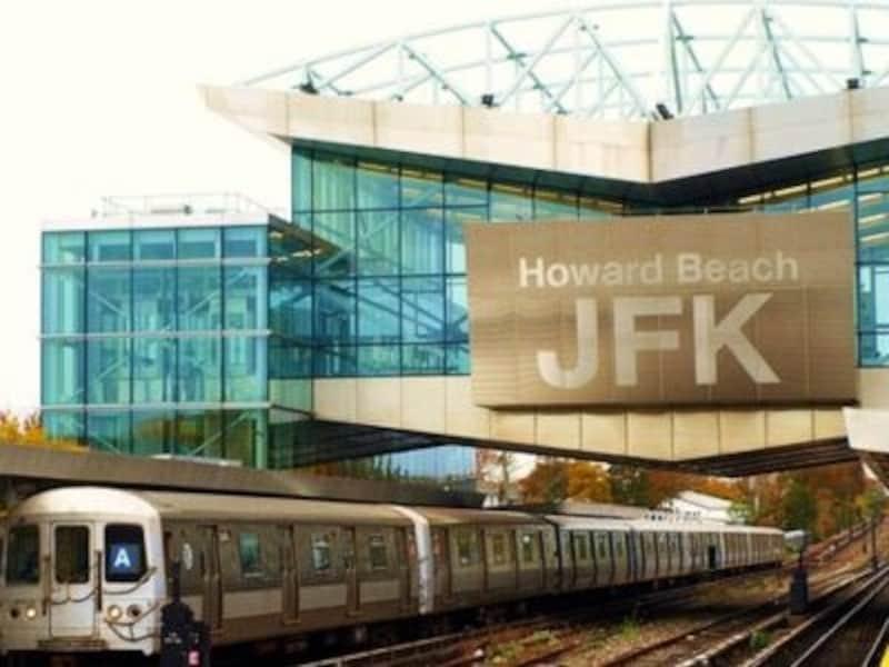 JFK空港最寄の地下鉄駅が、ハワードビーチ駅。