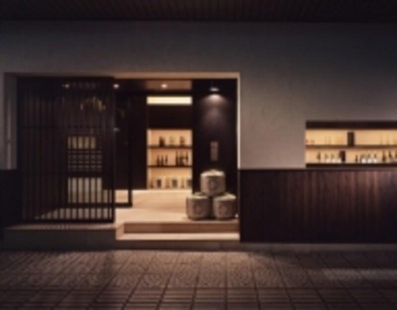福光屋金沢本店。老舗の酒蔵ですが、ショップはとてもスタイリッシュ