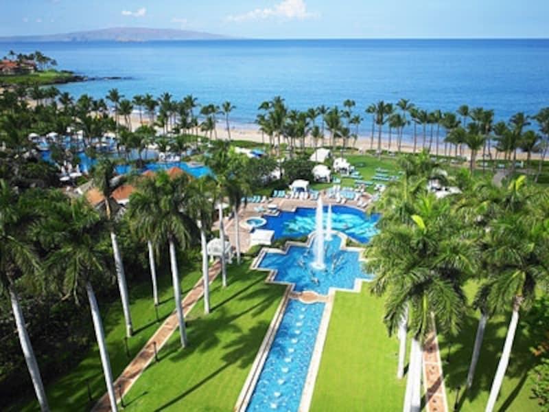 マウイ島随一のプール、ハワイ最大のスパ、チャンピオンシップ・ゴルフコースなど最高級のアメニティを完備したグランド・ワイレア・リゾート・ホテル&スパ
