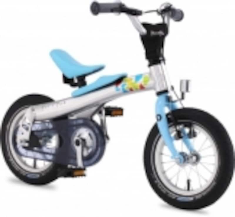 ペダルを着脱してランバイクとして乗り始められる自転車もある【商品画像はレンラッド】