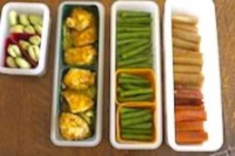 食材のモジュールも最初から合わせて作って保存しておきます。