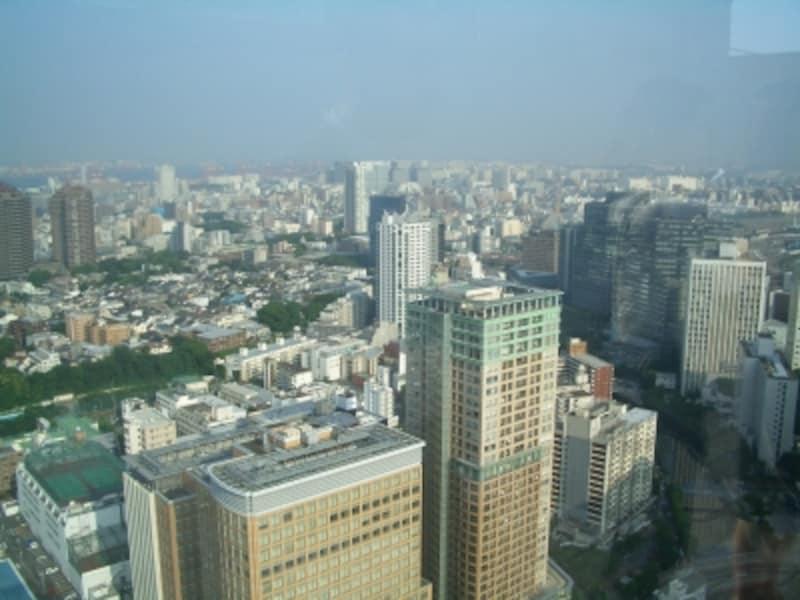 「パークタワーグランスカイ」から「ザ・パークタワー東京サウス」を臨む