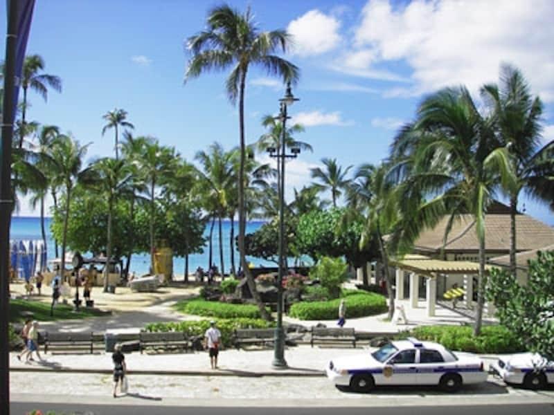開放的なリゾート地だが、ハワイも海外。