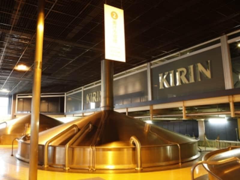 キリンビール横浜工場見学のようす(画像提供:キリンビール横浜工場)