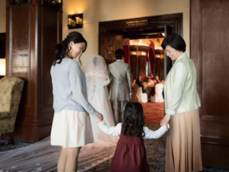 ウェディングのお仕事や模擬挙式を通して「結婚式」について学ぶ特別イベント(画像提供:ホテルニューグランド)