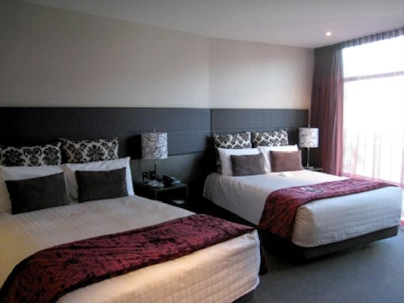 ホテルは定番の宿泊施設