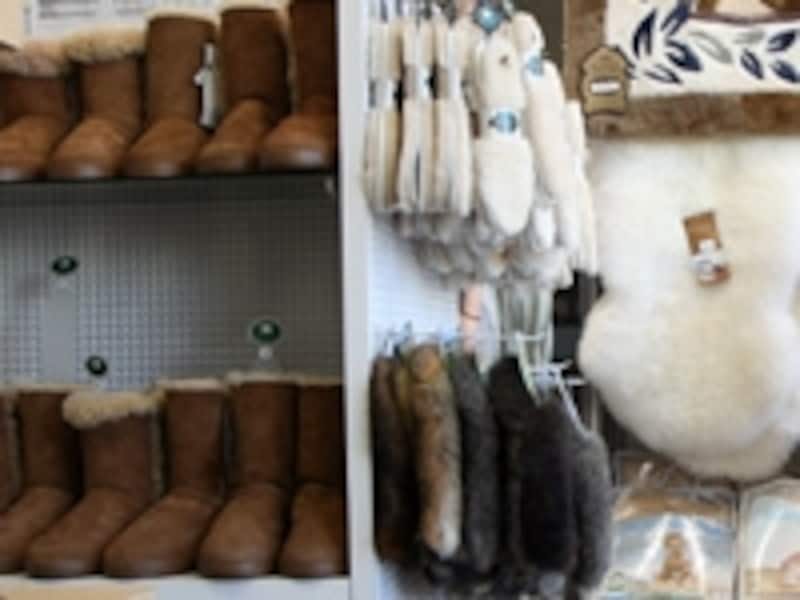 保温性抜群の羊毛製品