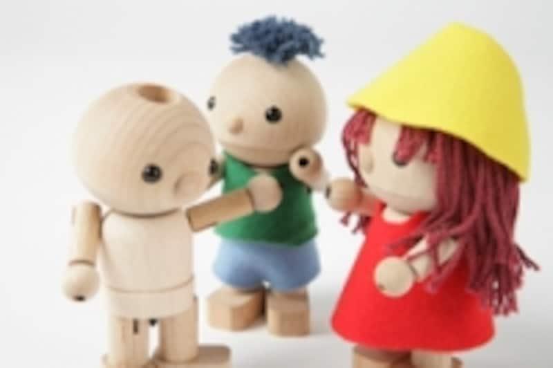 自分の好きな人形に簡単に変身させることができます