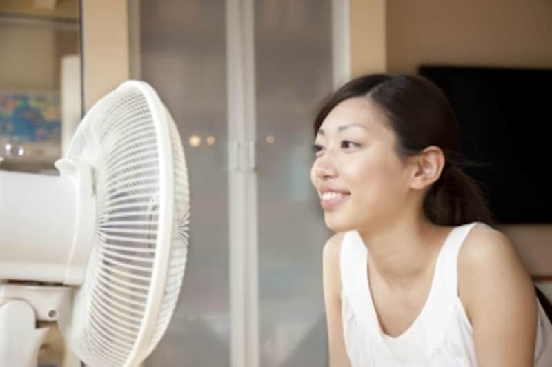 暑い夏の味方、扇風機