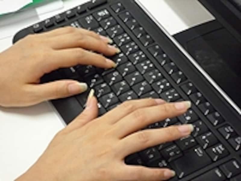 キーボードの打ちやすさもパソコン選びの大事な要素です