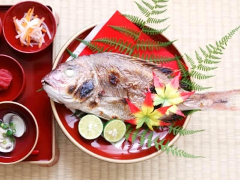 お食い初めの献立レシピ・鯛