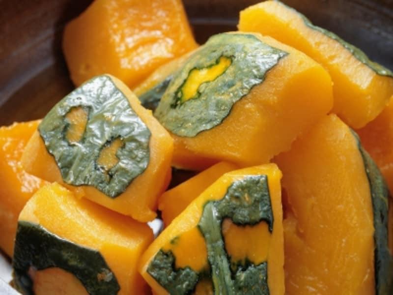 お食い初めの献立レシピ・かぼちゃの煮物