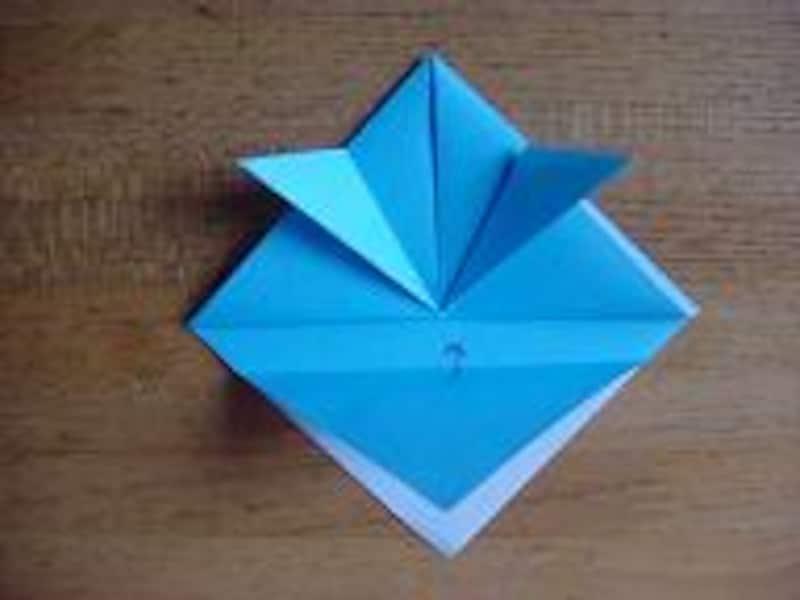 かぶとの折り方5
