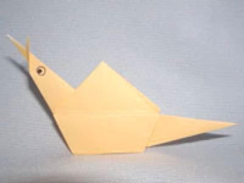 七夕飾り折り紙かたつむり