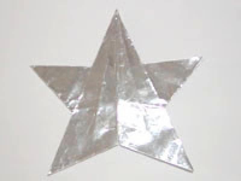七夕飾り折り紙星