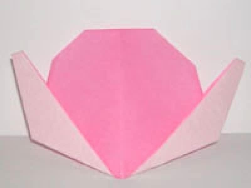 七夕飾り折り紙もも