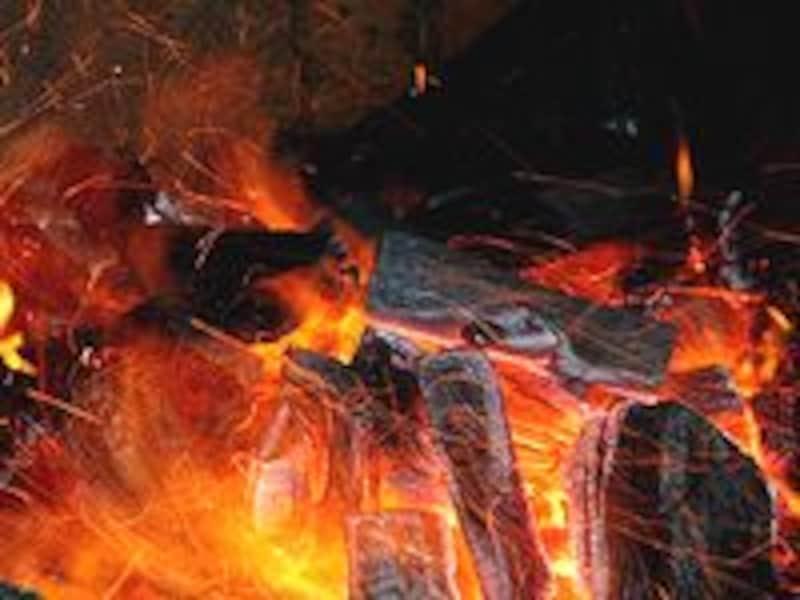 火おこしのコツC