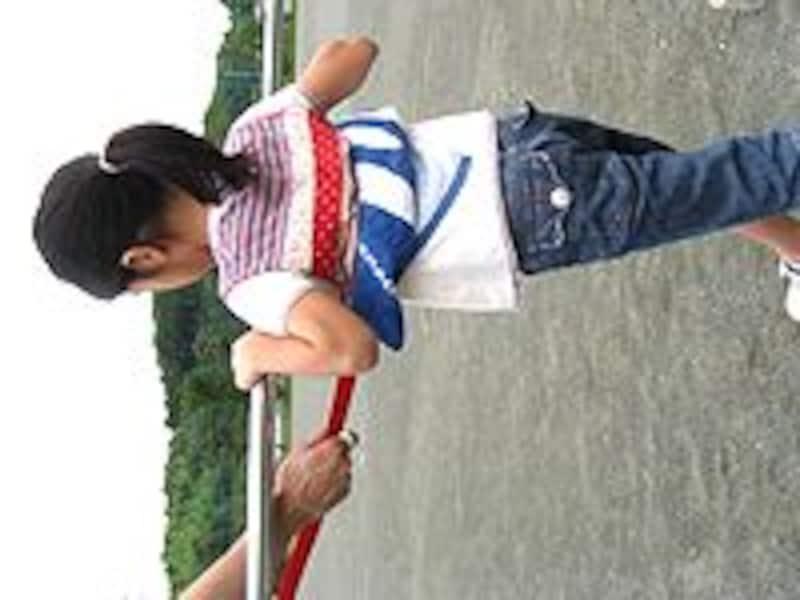 逆上がり練習画像1