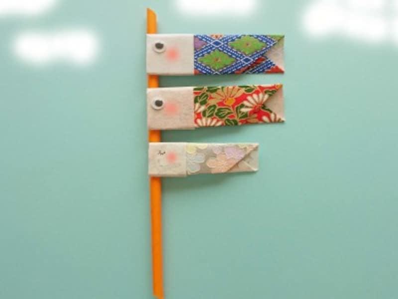 折り紙鯉のぼり