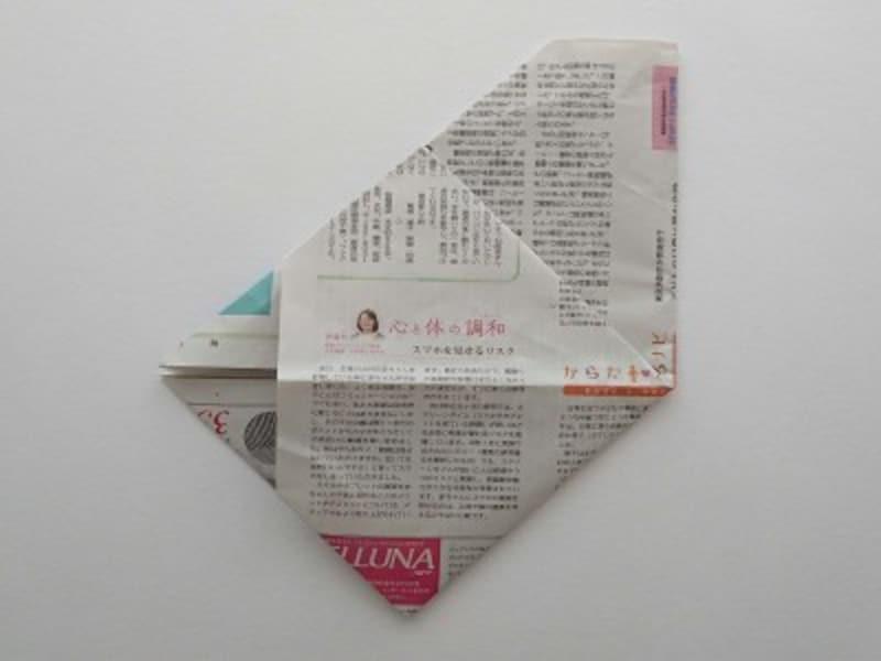 袋を開いた形