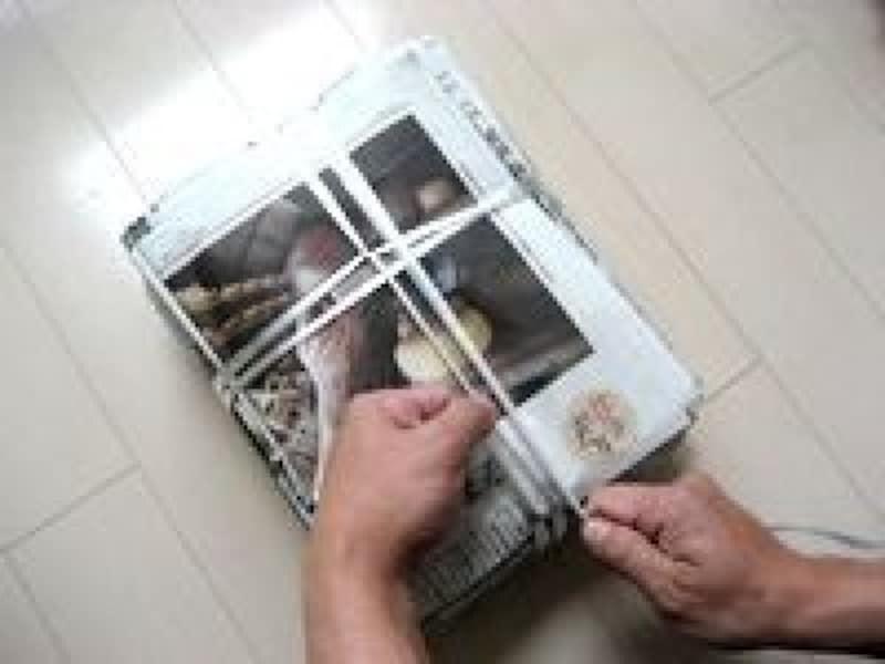 新聞の縛り方雑誌・本の縛り方結び方まとめ方ロープ・ひもの結び方