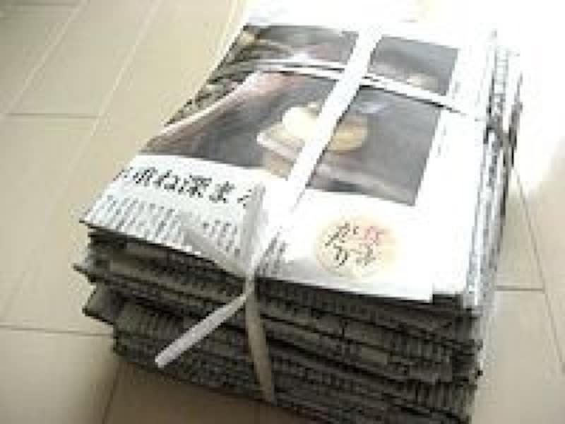 新聞の縛り方雑誌・本の縛り方結び方まとめ方簡単・頑丈な縛り方