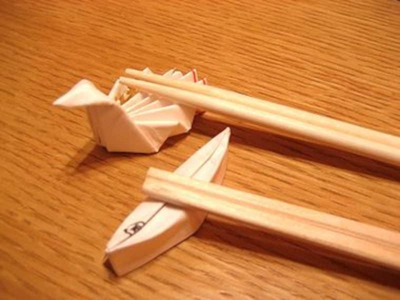 箸置き 作り方 折り方 割り箸