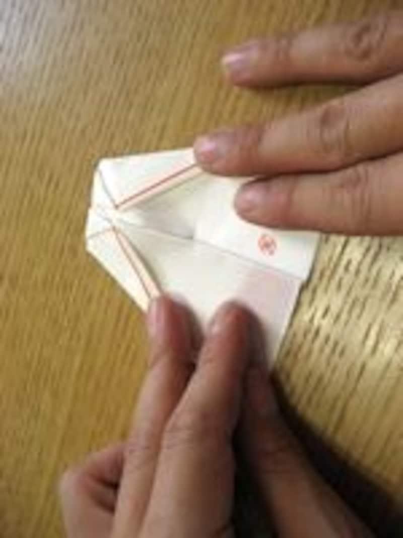 箸袋で折り紙
