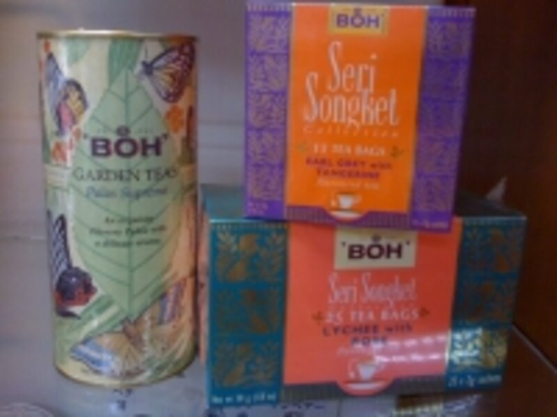 マレーシア産の紅茶、BOHティーは町中のスーパーが一番安い!
