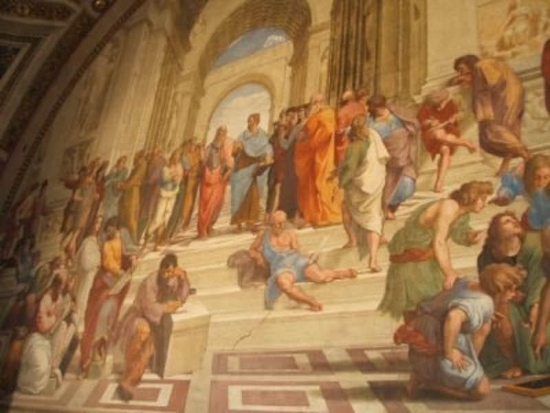バチカン市国内の巨大美術館バチカン美術館はローマに行くなら必見です!
