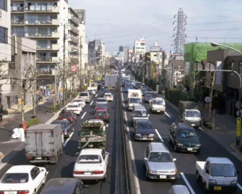 幹線道路沿いの立地は騒音や排ガスの影響を十分考慮して
