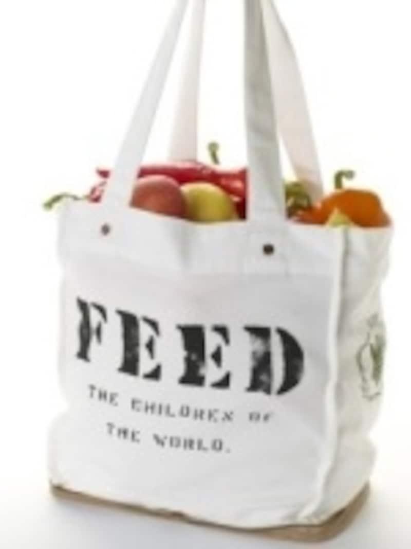 1つ買えば、100人分の給食になるドネーションバッグ