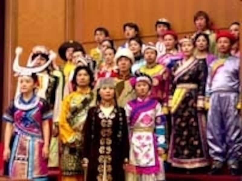中国は多民族の集合体