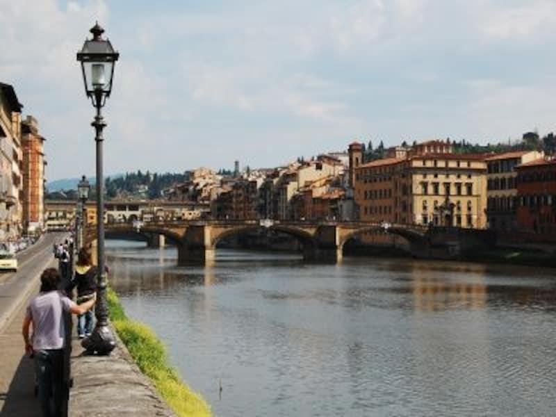 こじんまりしたフィレンツェの町歩きは、徒歩+バスが便利