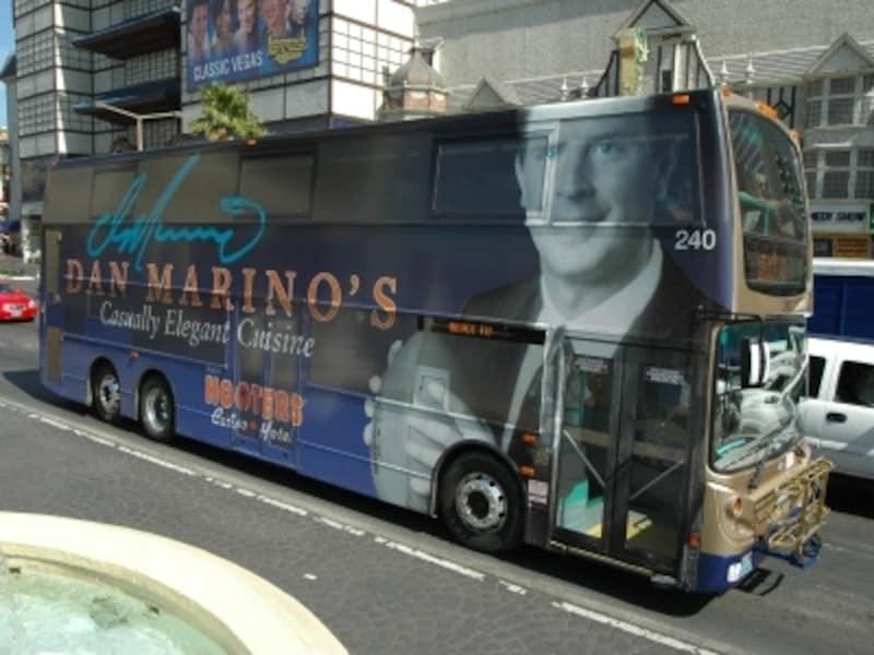 観光の足に便利な2階建てバス