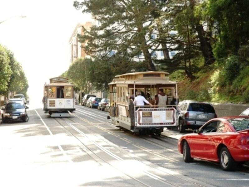 サンフランシスコは交通網が発達していて便利!