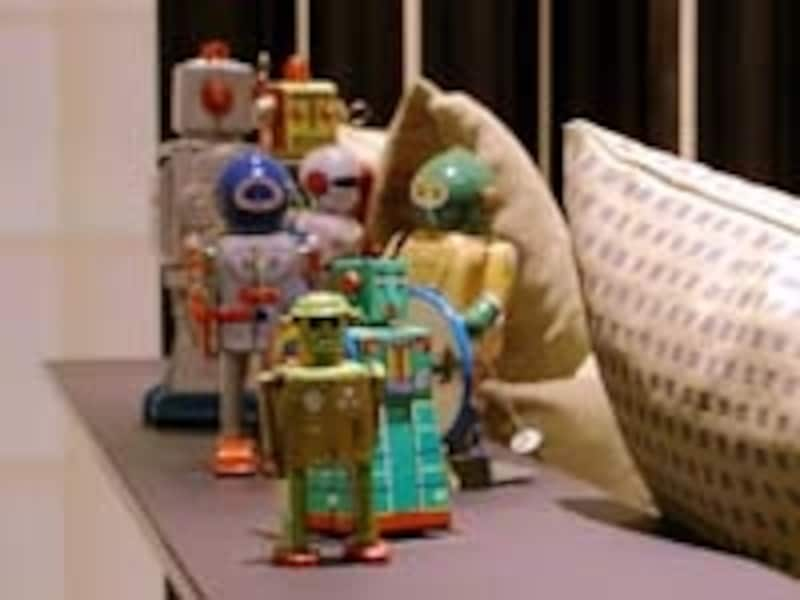 ロボットのフィギュア