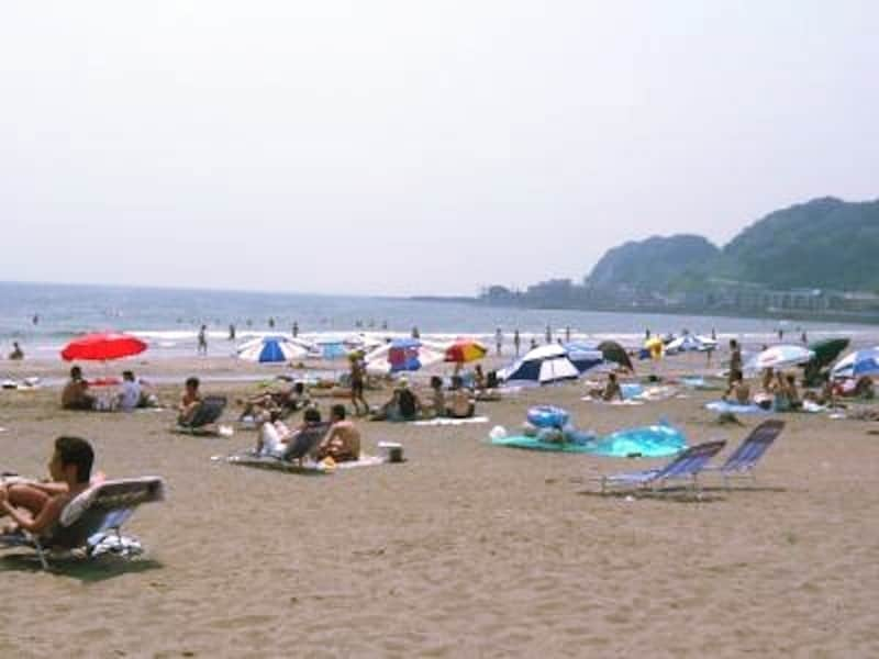 由比ガ浜にはお洒落な店が多く、カップルもたくさん集まるのでデートにピッタリ!