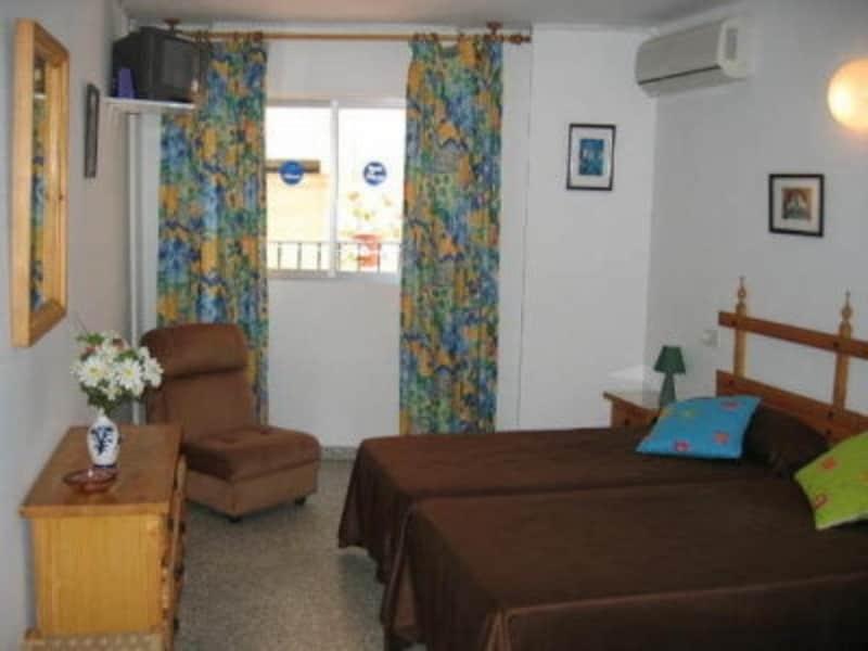 オスタルは、ベッド数が多い部屋ほど安い