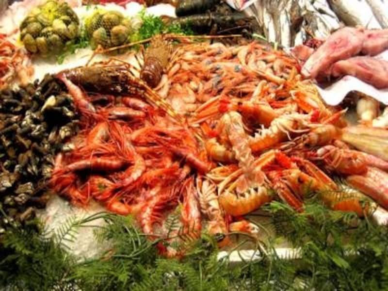 かつては高級レストランの料理だった魚介レストランもカジュアルなものが増えている