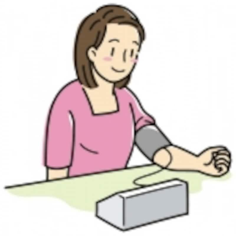 血圧や体重は毎日測ることが安全上勧められます。できれば毎朝起きぬけにと時間を決めておくと良いでしょう