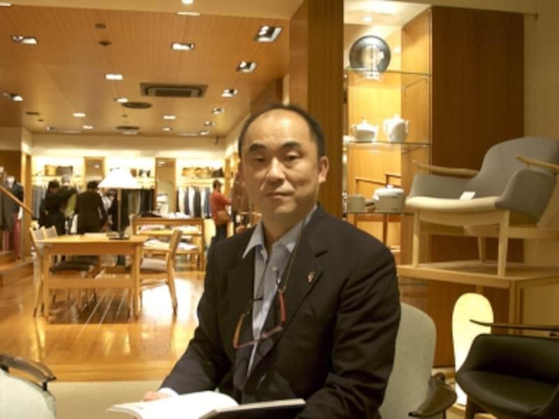 undefined家具に対する熱い思いを語る、サンモトヤマ社長:茂登山貴一郎氏
