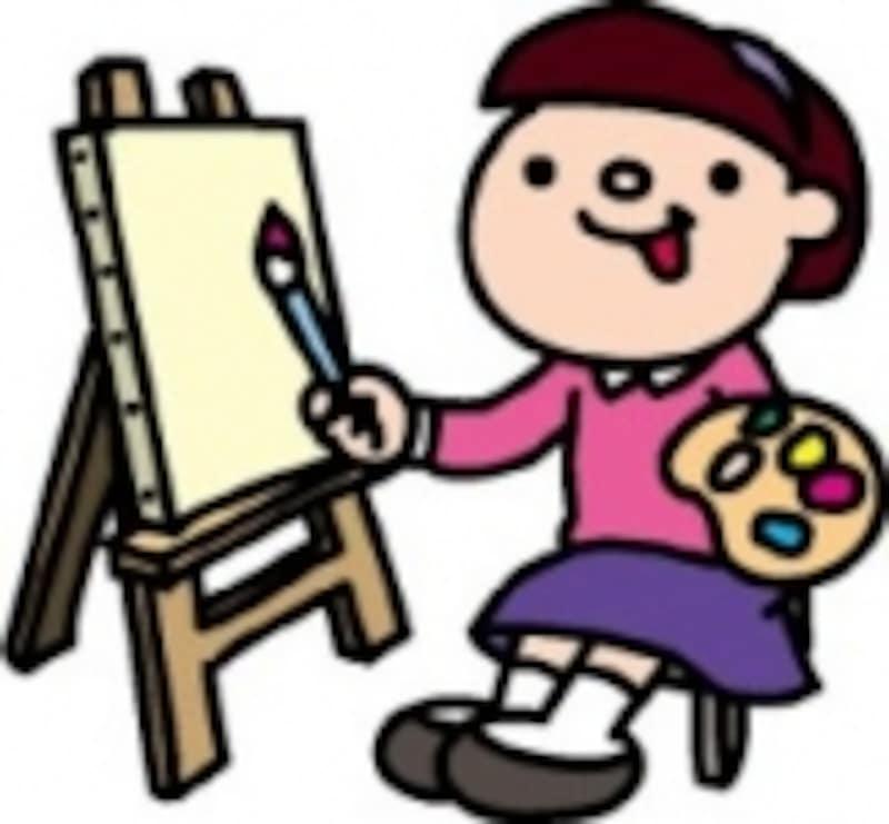 途上国の子どもに思いを寄せながら、絵を描く。長い夏休みならではの時間の過ごし方ですね