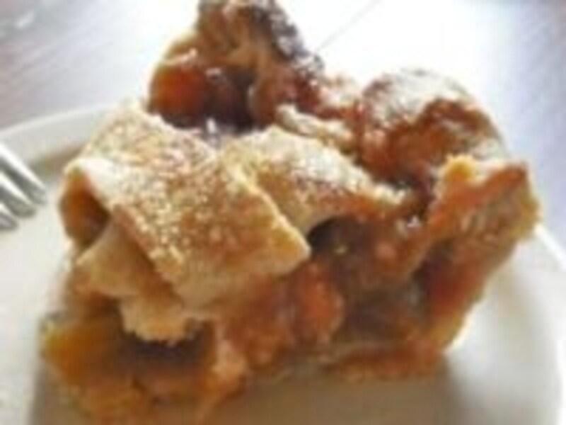 甘酸っぱいルバーブのパイ